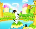 Play-shoot-the-basket-with-a-dog-and-a-turtle