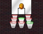 Shoot-game-with-nine-baskets-mouvants