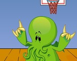 Basketball-spill-med-et-monster